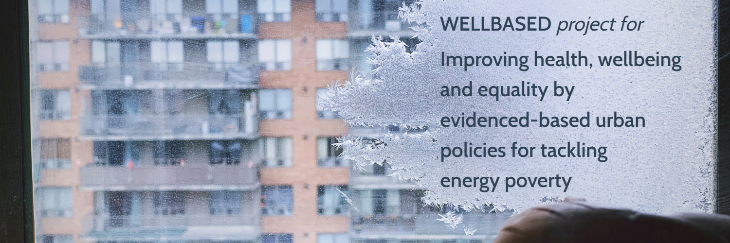 wellbased h2020 project aims at energy poverty and its connection to health